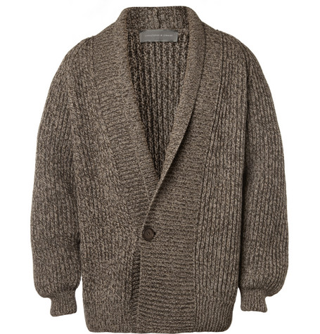 Christophe Lemaire Chunky Yak and Wool-Blend Cardigan