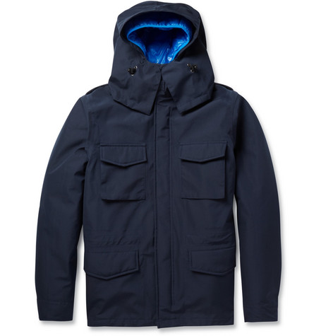 Aspesi Thermoregulating Double-Layered Field Jacket