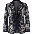 Dolce & Gabbana - Slim-Fit Embroidered Velvet Blazer