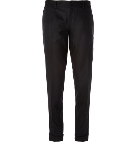 Dolce & Gabbana Slim-Fit Wool-Blend Trousers