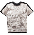 Dolce & Gabbana Oversized Printed Cotton-Jersey T-Shirt