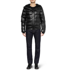 Dolce & Gabbana Down-Filled Hooded Ski Jacket