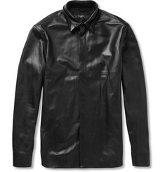 Givenchy Leather Shirt