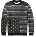Givenchy - Flag-Print Fleece-Back Jersey Sweatshirt