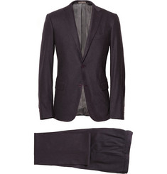 Bottega Veneta Purple Wool-Blend Suit