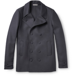 Bottega Veneta Slim-Fit Wool and Cashmere-Blend Peacoat