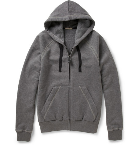 Bottega Veneta Fleece-Backed Cotton and Wool-Blend Hoodie