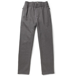 Bottega Veneta Fleece-Backed Cotton and Wool-Blend Sweat Pants