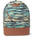 WANT LES ESSENTIELS - Kastrup Liberty-Print Leather-Trimmed Canvas Backpack