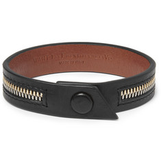 WANT Les Essentiels de la Vie Tambo Zip Leather Bracelet