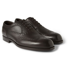 Bottega Veneta - Leather Wingtip Brogues