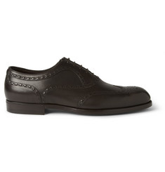 Bottega Veneta Leather Wingtip Brogues
