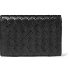 Bottega Veneta Intrecciato Leather Billfold Card Wallet