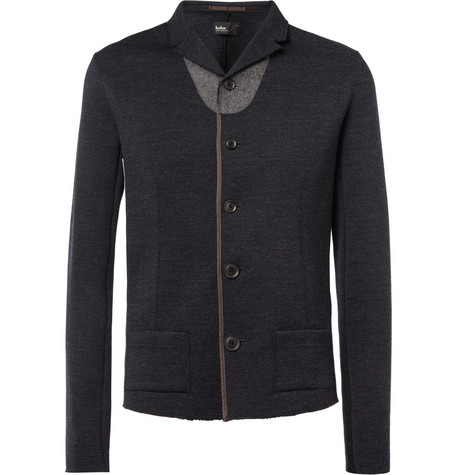 Kolor Slim-Fit Unstructured Wool Blazer