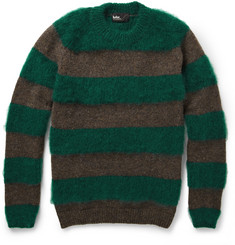 Kolor Striped Wool-Blend Sweater