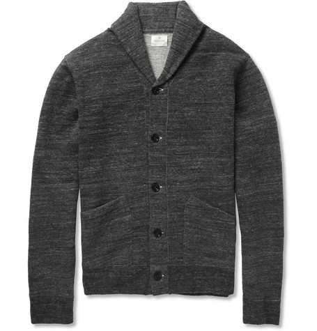 Hartford Wool and Cotton-Blend Jersey Cardigan