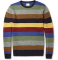 Hartford - Striped Shetland Wool Sweater