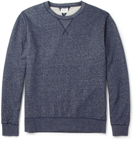 Hartford Marl Cotton-Jersey Sweatshirt