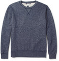 Hartford - Marl Cotton-Jersey Sweatshirt