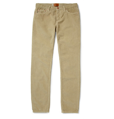 Band of Outsiders Slim-Fit Corduroy Trousers