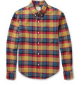 Band of Outsiders - Check Cotton-Flannel Shirt