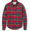 Band of Outsiders - Padded Cotton-Flannel Shirt Jacket