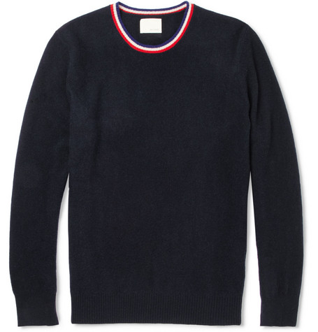 Band of Outsiders Crew Neck Wool Sweater
