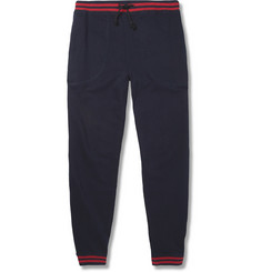 Band of Outsiders Slim-Fit Loopback Cotton-Jersey Sweatpants