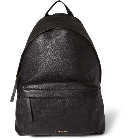 Givenchy Full-Grain Leather Backpack