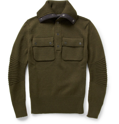 Belstaff Watkin Slim-Fit Wool Sweater