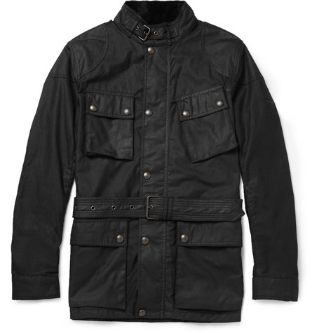 Belstaff Woodcote Waxed-Cotton Jacket