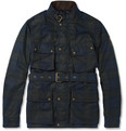 Belstaff - GSR Gordon Plaid Waxed-Cotton Jacket