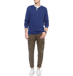 Rag & bone Slub Cotton-Jersey Henley T-Shirt