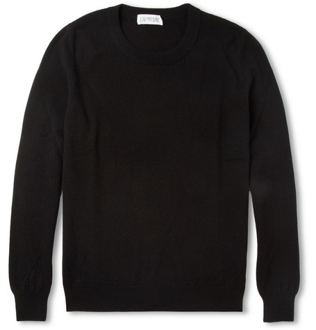 Exemplaire Slim-Fit Crew Neck Cashmere Sweater