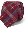 Drake's Plaid Silk Tie