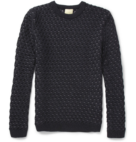 Wooyoungmi Chunky-Knit Wool-Blend Sweater