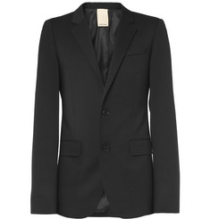 Wooyoungmi Black Wool-Blend Suit Jacket