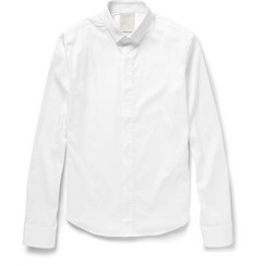 Wooyoungmi Cotton-Blend Poplin Shirt