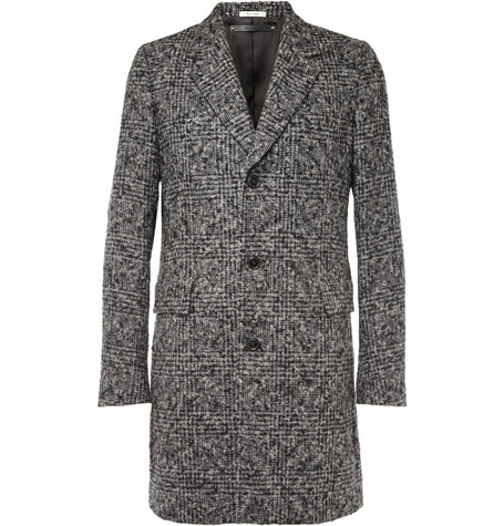 Paul Smith Check Alpaca and Wool-Blend Overcoat