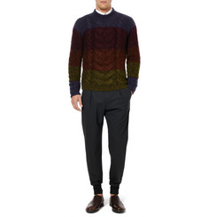 Paul Smith Slim-Fit Wool-Blend Trousers