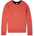 Paul Smith - Double-Collar Cotton-Jersey Sweatshirt