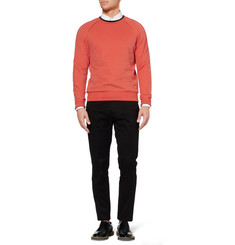 Paul Smith Double-Collar Cotton-Jersey Sweatshirt