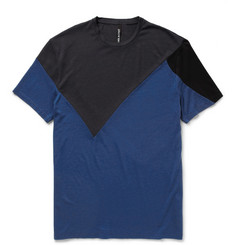 Neil Barrett Colour-Block Cotton-Jersey T-Shirt