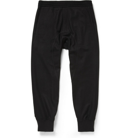 Neil Barrett Drop-Crotch Wool-Blend Sweatpants