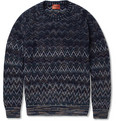 Missoni - Patterned-Knit Wool-Blend Sweater