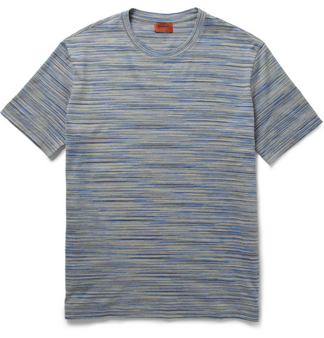 Missoni Space-Dye Cotton-Jersey T-Shirt