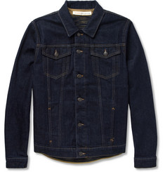 Missoni Jean.Machine Denim Jacket with Detachable Knitted Lining