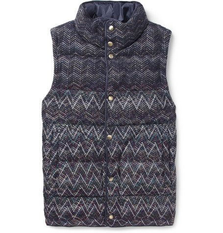 Missoni Reversible Quilted Gilet