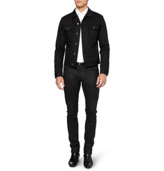 Saint Laurent Dry Denim Jacket