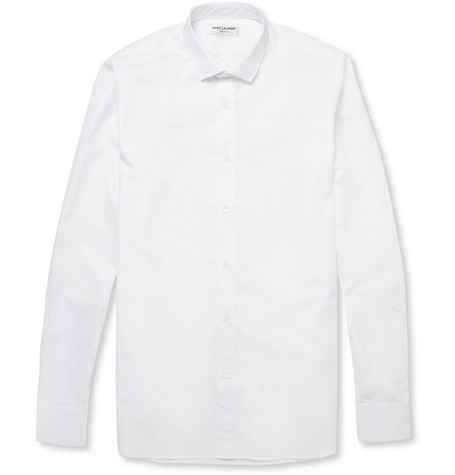 Saint Laurent Slim-Fit Cotton Shirt
